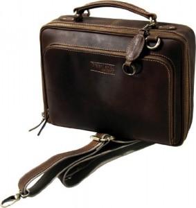 Eine hochwertige Netbook Tasche aus Leder