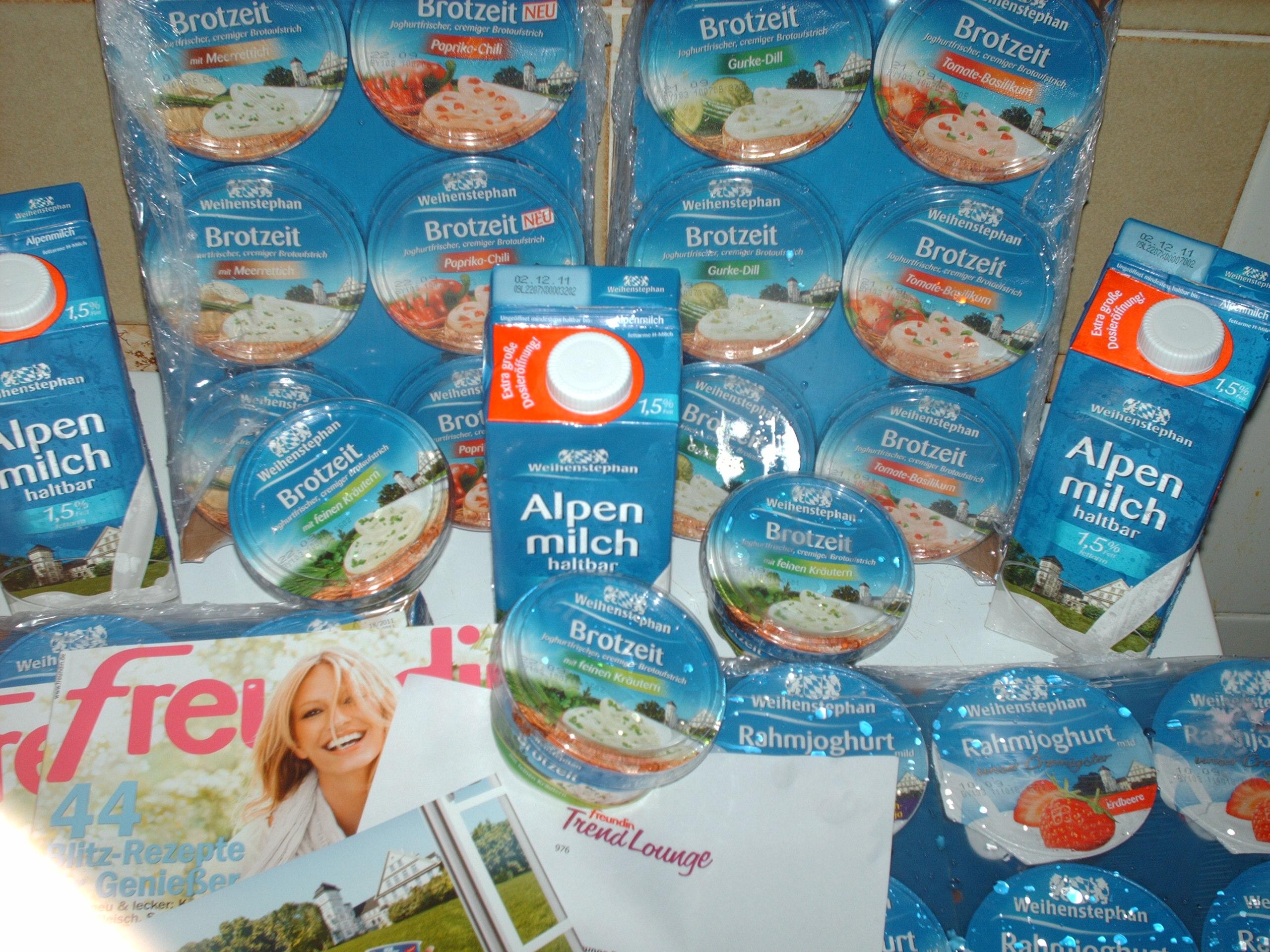 Weihenstephan Alpenmilch